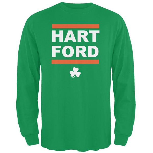 St. Patrick's Day - Hart-Ford Irish Green Adult Long Sleeve T-Shirt