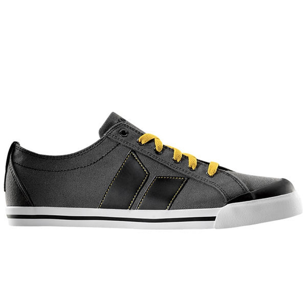 Macbeth - Eliot Grey Black & Ochre Shoes