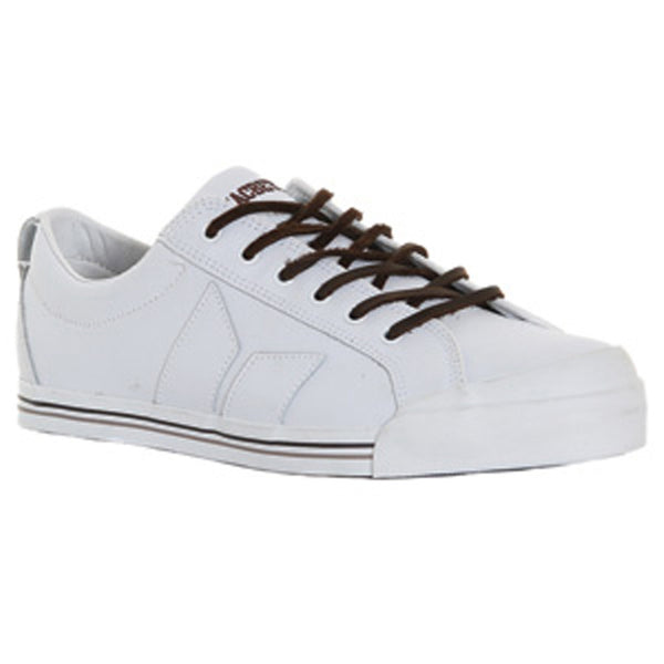 Macbeth - Eliot Premium White & Brown Shoes