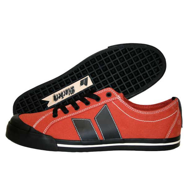 MacBeth - Eliot Rust Red & Black Men's Shoes