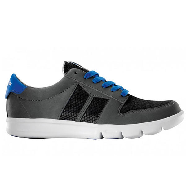Macbeth - Bradley Grey Black & Cobalt Shoes