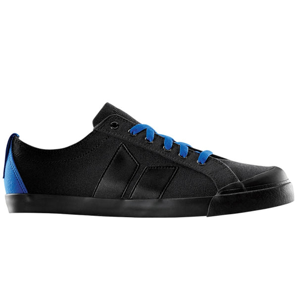 Macbeth - Eliot Black & Cobalt Canvas Shoes