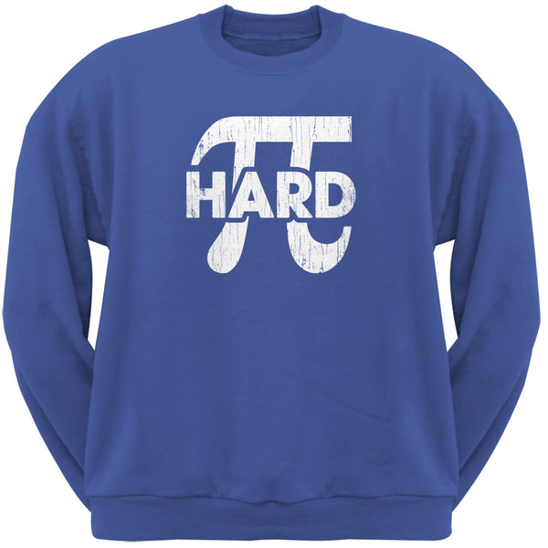 Pi Hard Blue Adult Neck Sweatshirt