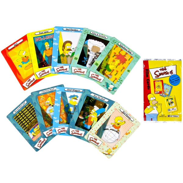 Simpsons - Collectible Film Cards
