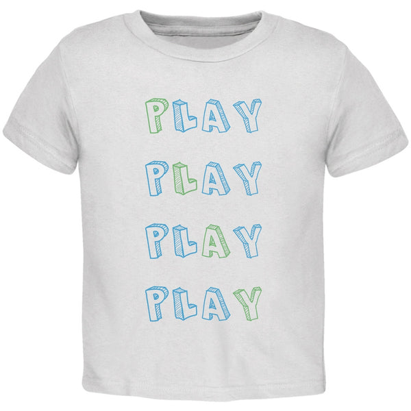 All About Play White Toddler T-Shirt