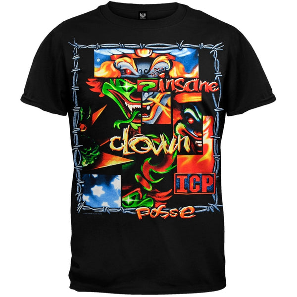 Insane Clown Posse - Patchwork - T-Shirt