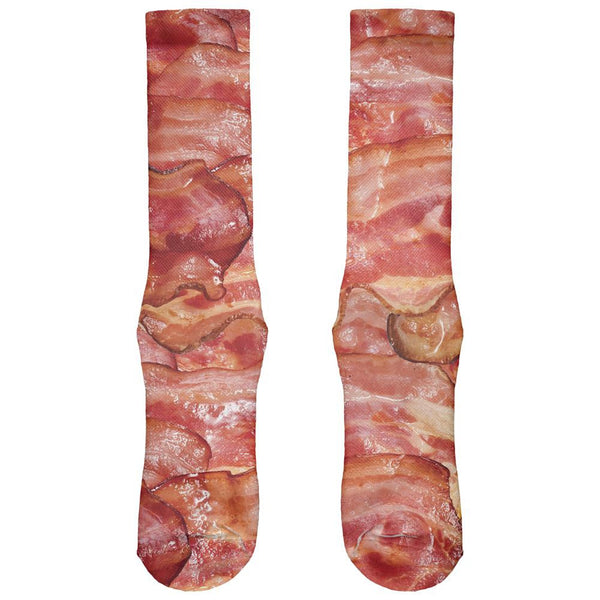 Bacon All Over Crew Socks