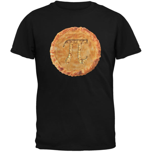 Pi Pie Black Adult T-Shirt