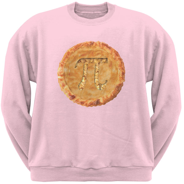 Pi Pie Light Pink Adult Sweatshirt