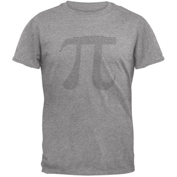 Pi Heather Grey Adult T-Shirt