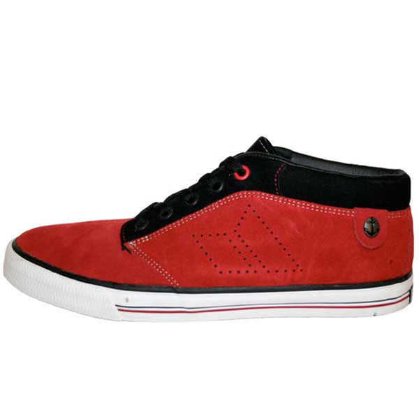 Macbeth - Hensley Blood Red & Black Sneakers