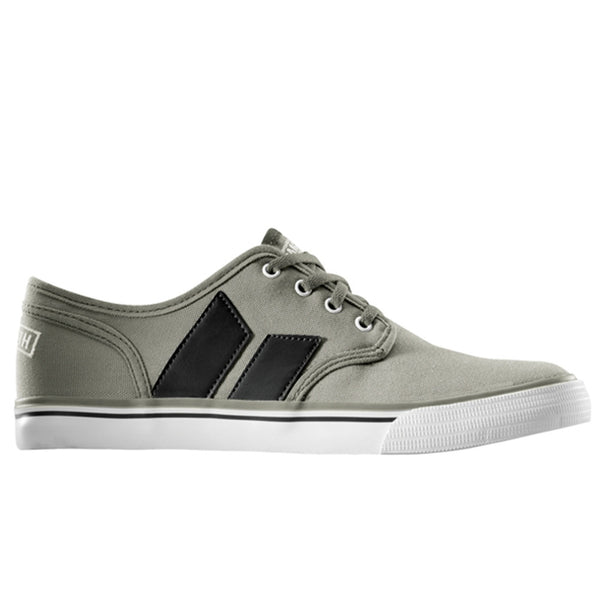 Macbeth - Langley Grey On Grey Canvas Shoes