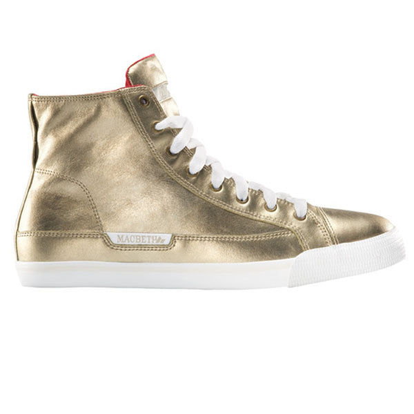 Macbeth - Schubert Gold Metallic High Top Sneakers