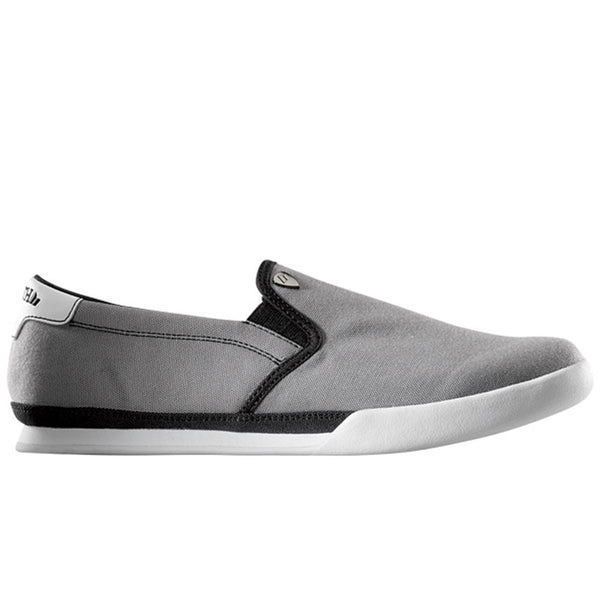 Macbeth - McQueen Grey & White Slip-On Shoes