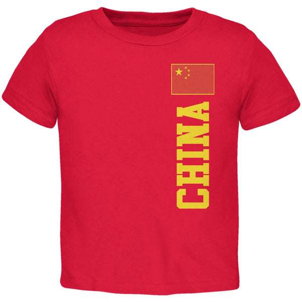 World Cup China Red Toddler T-Shirt