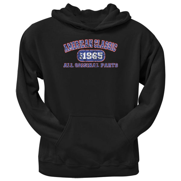 Classic American 1965 Funny Black Adult Hoodie