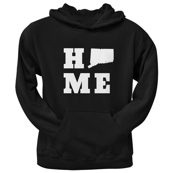 Connecticut Home Black Adult Hoodie