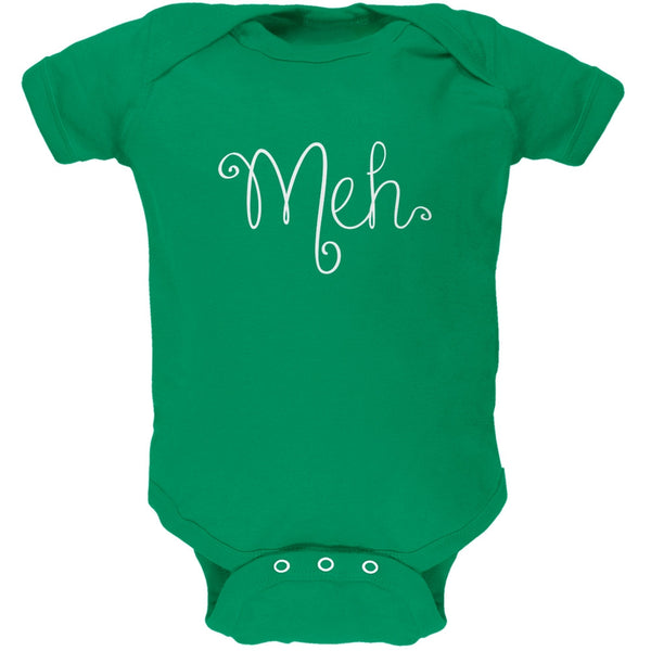 Meh Kelly Green Soft Baby One Piece