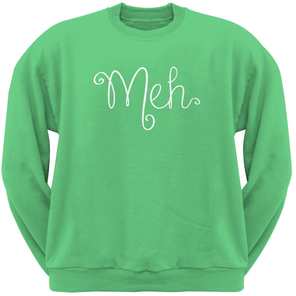 Meh Irish Green Adult Sweatshirt