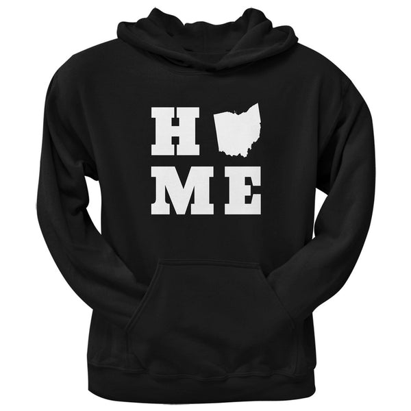 Ohio Home Black Adult Hoodie
