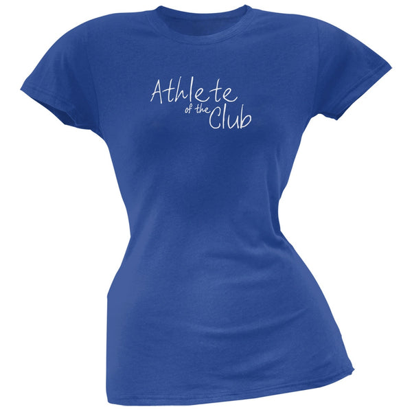 Athlete of the Club Royal Juniors Soft T-Shirt