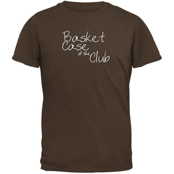 Basket Case of the Club Brown Adult T-Shirt