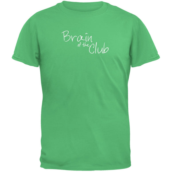 Brain of the Club Irish Green Adult T-Shirt