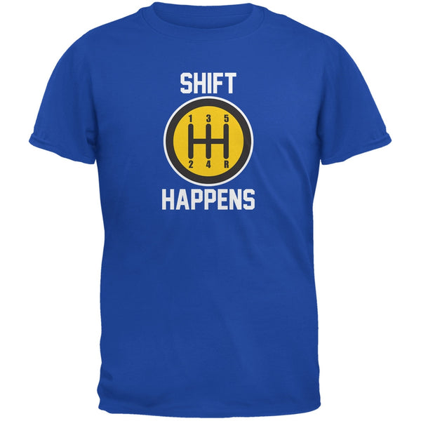 Shift Happens Royal Youth T-Shirt