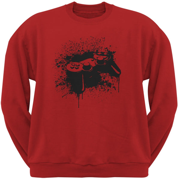 Game Controller Red Adult Sweatshirt