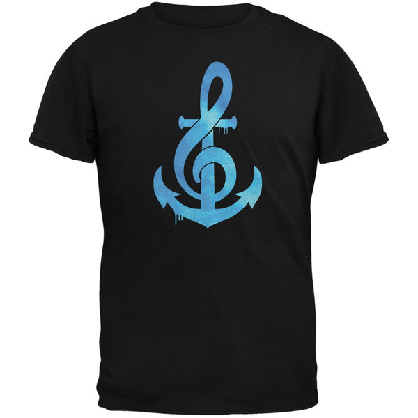 Anchor Clef Black Youth T-Shirt