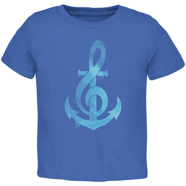 Anchor Clef Royal Toddler T-Shirt