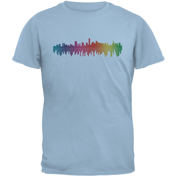 City Levels Light Blue Adult T-Shirt