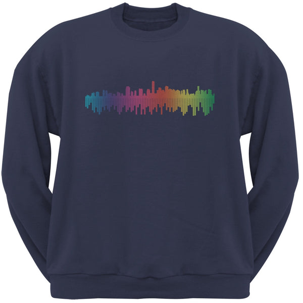 City Levels Navy Adult Sweatshirt