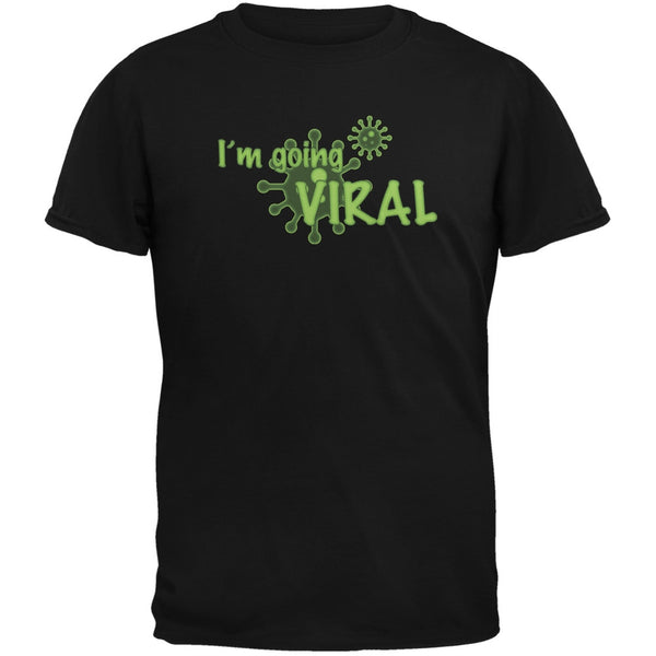 Going Viral Funny Flu Black Black Youth T-Shirt