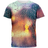 Rainy Bokeh All Over Adult T-Shirt