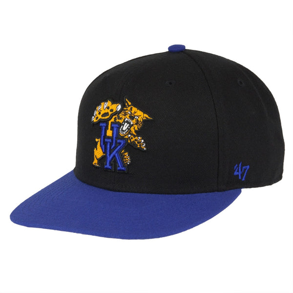 Kentucky Wildcats - Logo Sure Shot Two Tone Captain Adjustable Baseball Cap