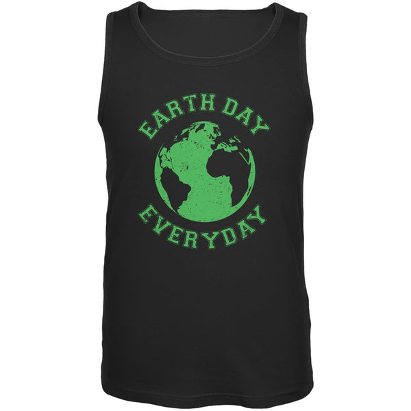 Earth Day - Earth Day Everyday Black Adult Tank Top