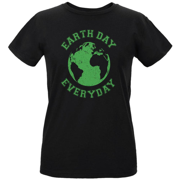 Earth Day - Earth Day Everyday Women's Organic Black T-Shirt