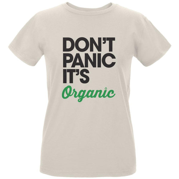 Earth Day - Don't Panic It's Organic Women's Organic Natural T-Shirt