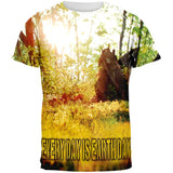 Earth Day Forest Sun All Over Adult T-Shirt