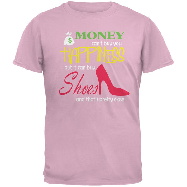 Money Happiness Shoes Funny Pink Adult T-Shirt