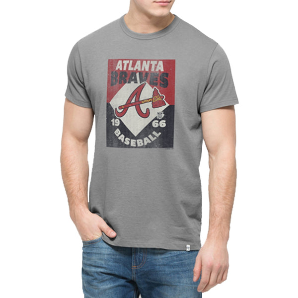 Atlanta Braves - Knockaround Flanker Logo T-Shirt