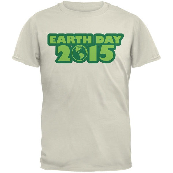 Earth Day - 2015 Natural Adult T-Shirt