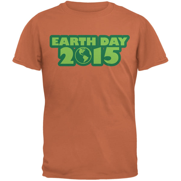 Earth Day - 2015 Texas Orange Adult T-Shirt