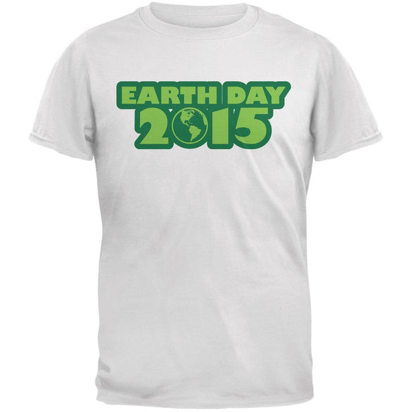 Earth Day - 2015 White Youth T-Shirt