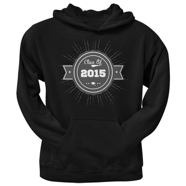 2015 Grad Badge Black Adult Hoodie