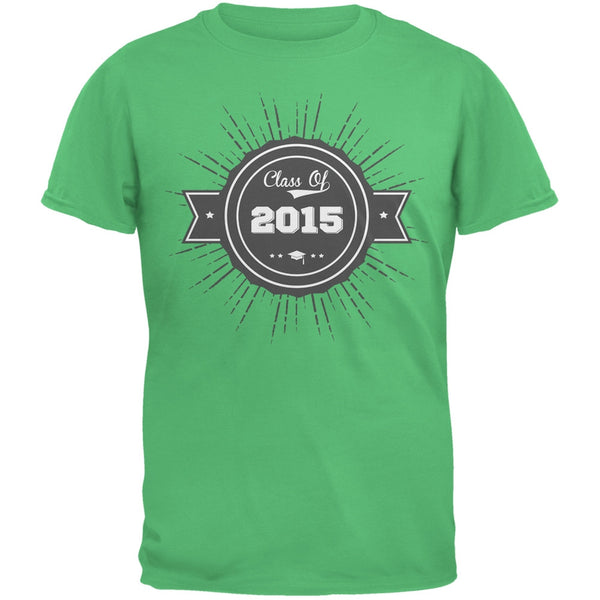 2015 Grad Badge Irish Green Adult T-Shirt