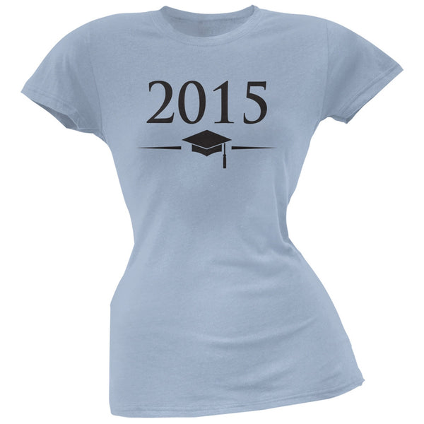 2015 Light Blue Juniors Soft T-Shirt