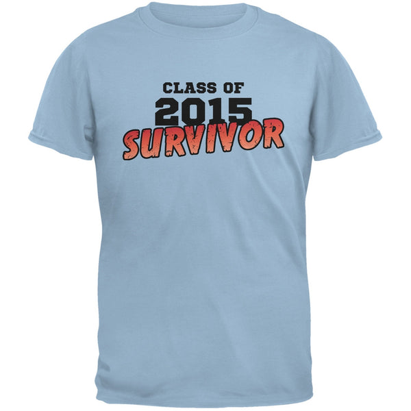 2015 Survivor Light Blue Adult T-Shirt