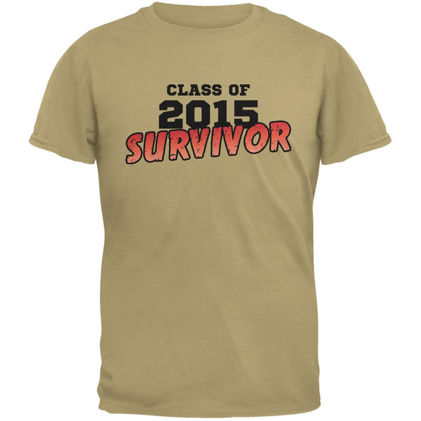 2015 Survivor Tan Adult T-Shirt